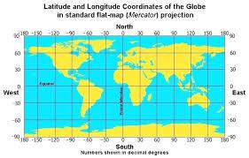 Map Of The World Longitude And Latitude Blazegraphics Co