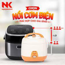 """NguyenKim (nguyenkim.com) - ✨✨ """"Chốt"""" liền tay Nồi cơm điện xịn cho nhà  mình chỉ với tip sau: Bạn biết không, số lượng thành viên trong gia đình sẽ  là yếu tố"""