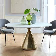 west elm dining tables silhouette pedestal dining table oval west elm round glass dining table