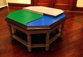 furniture designs to delight your inner child wooden lego table octagonal table wooden lego table with