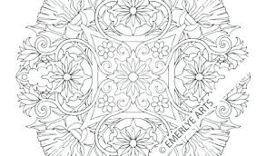 Free Printable Mandala Coloring Pages For Adults Easy Animal Pdf
