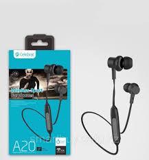 Bluetooth <b>наушники Celebrat A20 Black</b>, цена 2596 Тг., купить в ...