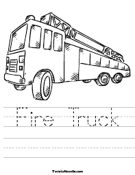 Small Picture Printable 31 Fire Truck Coloring Pages 1507 Fire Truck Color