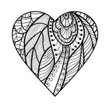Vettoriale Cuore Damore Decorativo Illustrazione Vettoriale