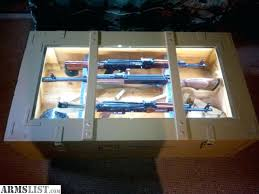 crate coffee table for trade military crate display coffee table combo weapons