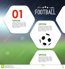 Sports Infographic Template Sport Infographics Template Soccer Football Concept Illustration