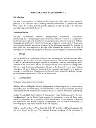 24416024 Mergers And Acquisition 1 Consolidation Business