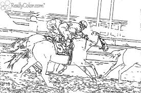 Small Picture Horse Racing Coloring Pages Coloring Pages