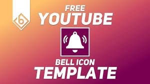 Youtube Icon Template Youtube Bell Notification Icon Animation Free Template Any Program