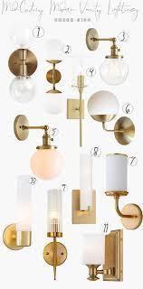 Mid Century Modern Lighting For A Bathroom Darling Down South