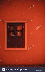 Red Light Vintage Costume A Vintage Wooden And Glass Window With Red Light Filter