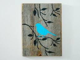 reclaimed barnwood handpainted wood wall art by thedoubledubs 30 00 on hand painted wood wall art with reclaimed barnwood hand painted wood wall art rustic art turquoise