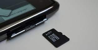 t detect extemal sd card