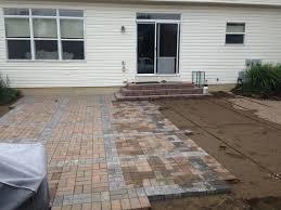 paver patio install
