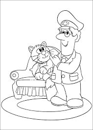 Small Picture Postman pat Coloring Pages Coloringpages1001com