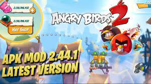 Angry Birds 2: APK MOD Ver. 2.44.1 (UNLIMITED GEMS & BLACK ORBS) Latest  Update 2020 - YouTube