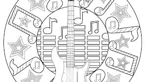 Free Music Coloring Pages Free Kindergarten Music Coloring Pages