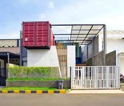 Small Picture Atelier Riri uses 4 shipping containers to construct a charming
