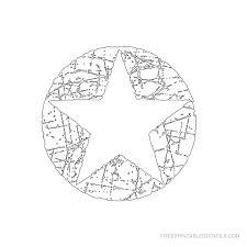 printable star star stencil printable designs free printable stencils