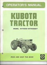 kubota heavy equipment parts accessories manual tractor kubota m7500 m7500dt tractor operator s manual wiring schematics