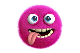 wallpaper 3d monster cute fluffy funny face wallpapers rendering 3000x2000