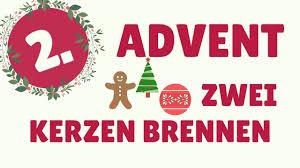 Bildergebnis für 2. Advent bild mit kerzen