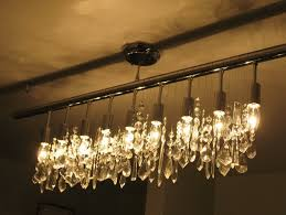 linear strand crystal chandelier z gallerie home design ideas
