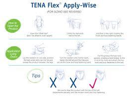 Tena Brief Sizing Chart Tena Flex Maxi With Comfistretch Easy To Use Belt Medprodirect