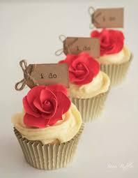 40 Decadent Rose Cupcakes
