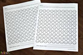 The top of the printable combines with others to make a student's language journal. Free Fall Color Words Worksheets