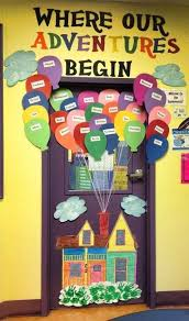 classroom door decorations back to school. Unique School Up Up And Away  29 Awesome Classroom Doors For BackToSchool Inside Door Decorations Back To School L