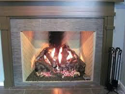 gas burning fireplace gas vs wood burning fireplace inserts
