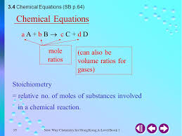 35 chemical equations