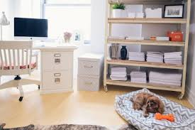 pinterest home office. nycbased pr professional kelly wanted a light airy office that showcased her extensive collection of books and magazines while also being petfriendly pinterest home s