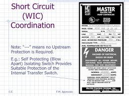 fire pump transfer switch basics unit 8 short circuit