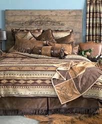 western duvet covers king cabin brown mustang western comforter bedding set bed in a bag west