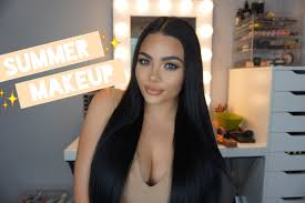 summer makeup tutorial 2017 glowy fresh makeup