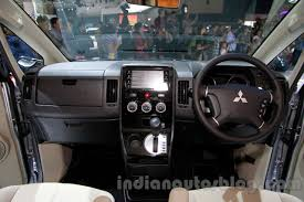 2018 mitsubishi delica. brilliant 2018 mitsubishi delica at the 2014 indonesia international motor show interior with 2018 mitsubishi delica