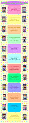 Having information about the time duration and the habitat can save you a lot of time. Animal Crossing New Leaf Face Guide By Roamingpandas On Cute766