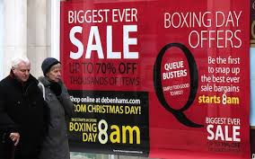 Boxing Day Sales Rush Will Be Hit By Pre Christmas Discounting