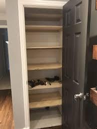 diy closet room. DIY Closet Shelves   Storage Home Office Diy Room E