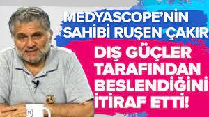 RUŞEN ÇAKIR'IN MEDYASCOPE TV'SİNİ KİM BESLİYOR? - YouTube