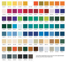 Iris Floss Color Chart Iris Thread Color Chart 2019
