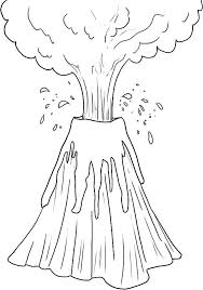 compromise volcano coloring pages isolution me