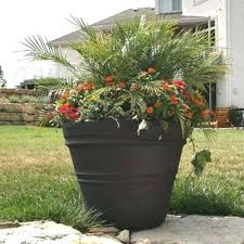 large resin planters best our poly images on round large resin planters outdoor