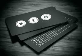 Social Media Business Cards Template Luxury Free Card