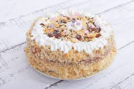 Znalezione obrazy dla zapytania biscuit cake with whipped cream
