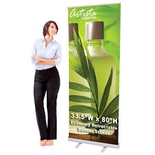 Pull Up Display Stands Beauteous Retractable Banner Stands New York Roll Up Stands New York Pull