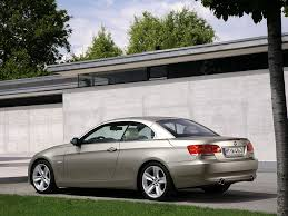 BMW 3 Series bmw 3 series 2007 : 2007 BMW 3 Series Convertible - Rear And Side - 1024x768 - Wallpaper