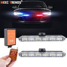 Personal Emergency Strobe Lights 2x6 Led Wireless Remote Strobe Warning Lights 12v Car Trucks